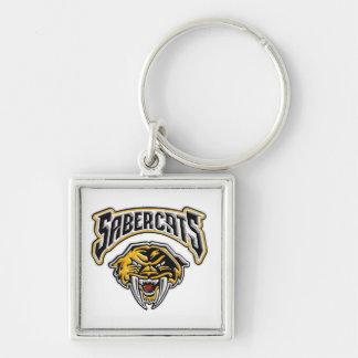 Sabercats Youth Football & Cheer Key Ring