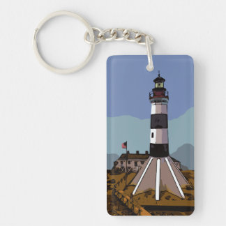 SABINE PASS LIGHTHOUSE KEY RING