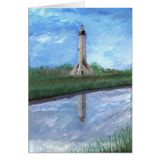 Sabine Pass Lighthouse, Louisiana Card