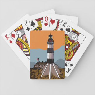 SABINE PASS LIGHTHOUSE PLAYING CARDS