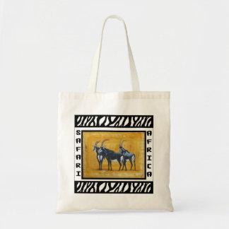 Sable Antelope logo tote bag