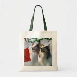 Sable Rough Collie Christmas Gifts Canvas Bag