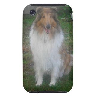 Sable Rough Collie iPhone 3 Case