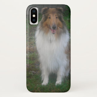 Sable Rough Collie iPhone X Case