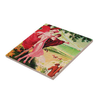 Sables d'Or les Pins Small Square Tile