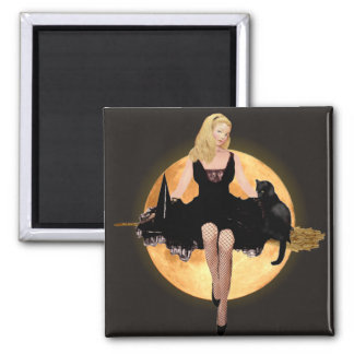 Sabrina the Teenage Witch Square Magnet