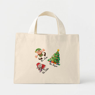 Sac Fourre-Tout de Noël Mini Tote Bag