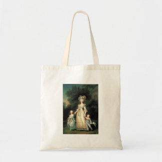 Sac portrait Marie Antoinette avec enfants Tote Bag