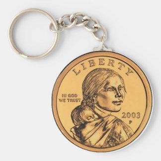 Sacagawea Dollar Keychains