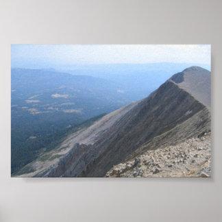 Sacajawea Mountain Poster