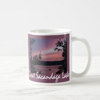 Sacandaga Sunset Violet Mug