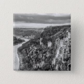 Sachsen view 15 cm square badge