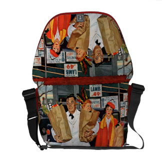 Sack Full of Trouble Messenger Bags