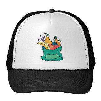 sack of fresh fruit cap
