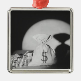 Sack of Money Metal Ornament