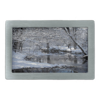 Saco River New Hampshire Belt Buckle