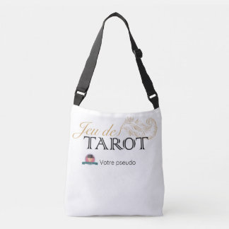 Sacoche de jeu de tarot personnalisée crossbody bag