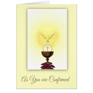 Sacrament of Confirmation Holy Spirit Prayer Card