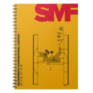 Sacramento Airport (SMF) Diagram Notebook