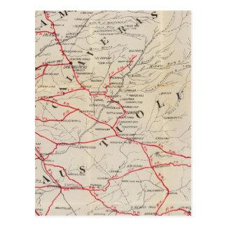 Sacramento, Amador, Calaveras, San Joaquin Postcard