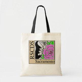 Sacramento Branch RSCDS Tote Budget Tote Bag