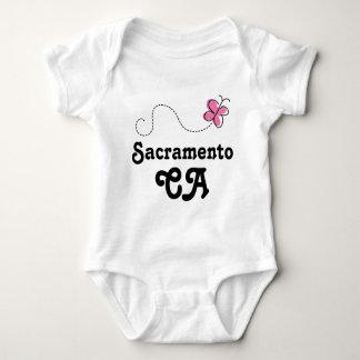 Sacramento CA Gift Baby Bodysuit
