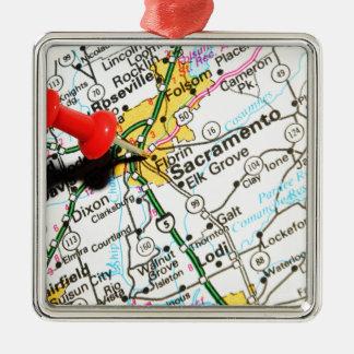 Sacramento, California Metal Ornament