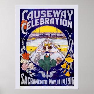 Sacramento Causeway Celebration Poster