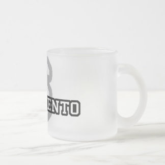 Sacramento Frosted Glass Coffee Mug