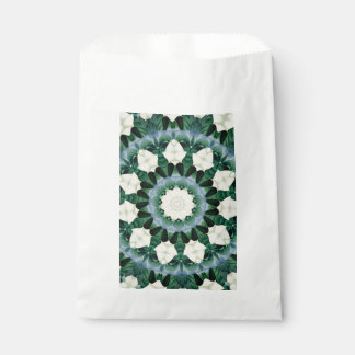 Sacramento Green and Cerulean Blue Mandala Favour Bag