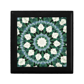 Sacramento Green and Cerulean Blue Mandala Gift Box