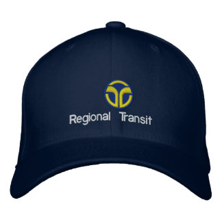 Sacramento Regional Transit Embroidered Hat