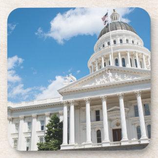 Sacramento State Capitol of California Beverage Coaster