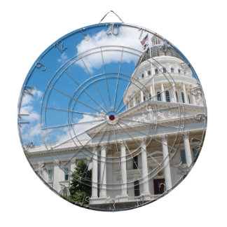 Sacramento State Capitol of California Dartboard