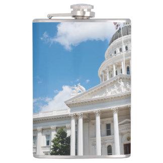 Sacramento State Capitol of California Flasks