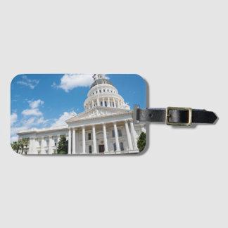 Sacramento State Capitol of California Luggage Tag