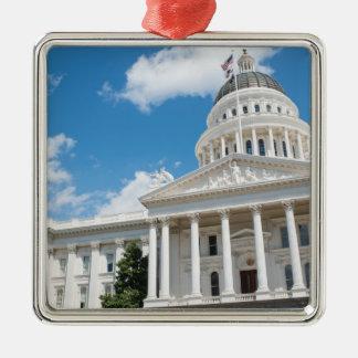 Sacramento State Capitol of California Metal Ornament