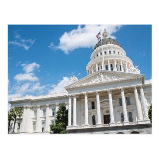 Sacramento State Capitol of California Postcard