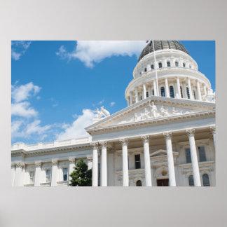 Sacramento State Capitol of California Poster