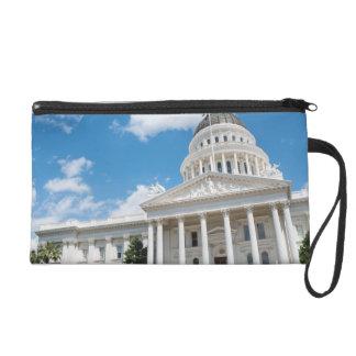 Sacramento State Capitol of California Wristlet