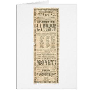 Sacramento Theatre (1431A) Greeting Card