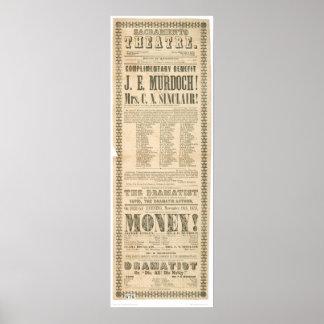 Sacramento Theatre (1431A) Poster