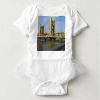 Sacramento Tower Bridge Baby Bodysuit