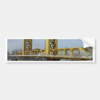 Sacramento Tower Bridge Bumper Sticker