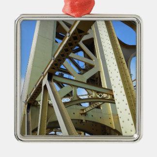 Sacramento Tower Bridge Metal Ornament