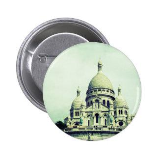 Sacre Coeur 6 Cm Round Badge