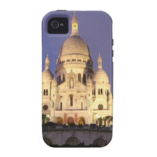 Sacre Coeur at night Vibe iPhone 4 Case