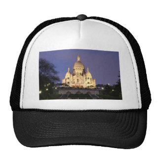 Sacre Coeur at night Trucker Hat