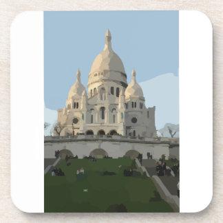Sacre Coeur Basilica Coaster