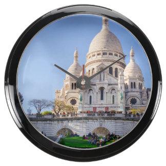 Sacre Coeur Basilica, French Architecture, Paris Aqua Clocks